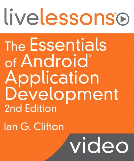 Essentials of Android Application Development