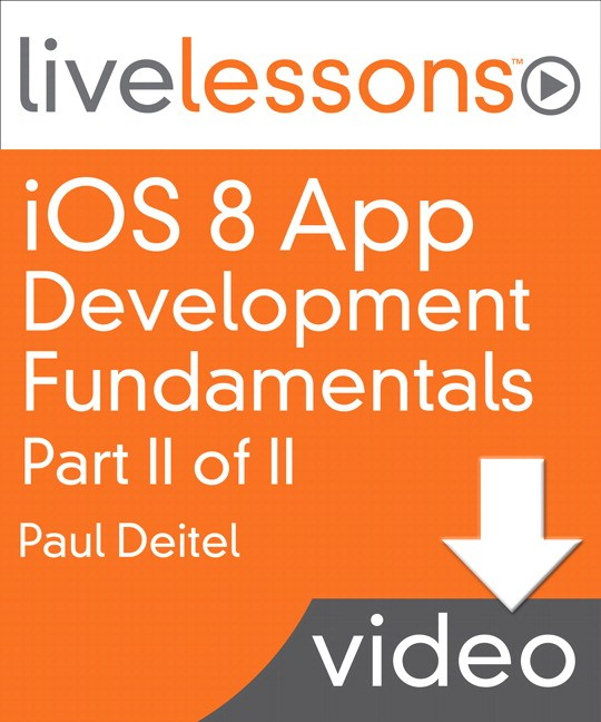 iOS 8 App Development Fundamentals LiveLessons: Part II, Lesson 7: Doodlz App