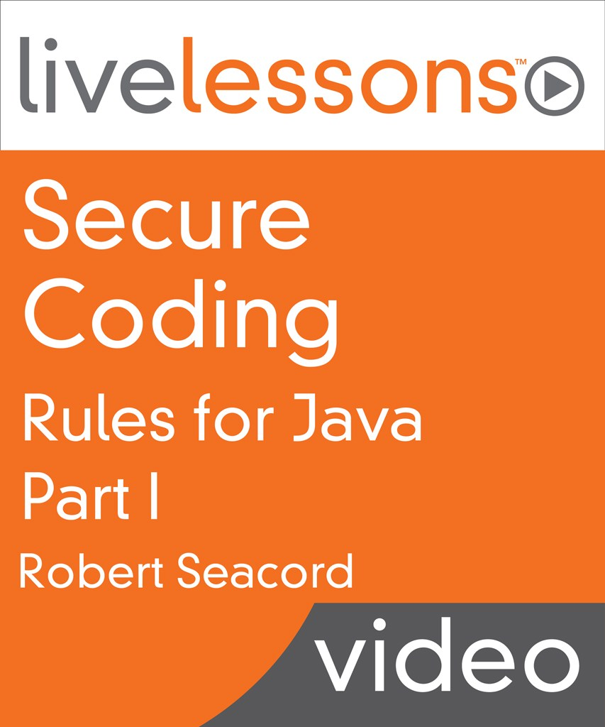 Secure Coding Rules for Java LiveLessons, Part I