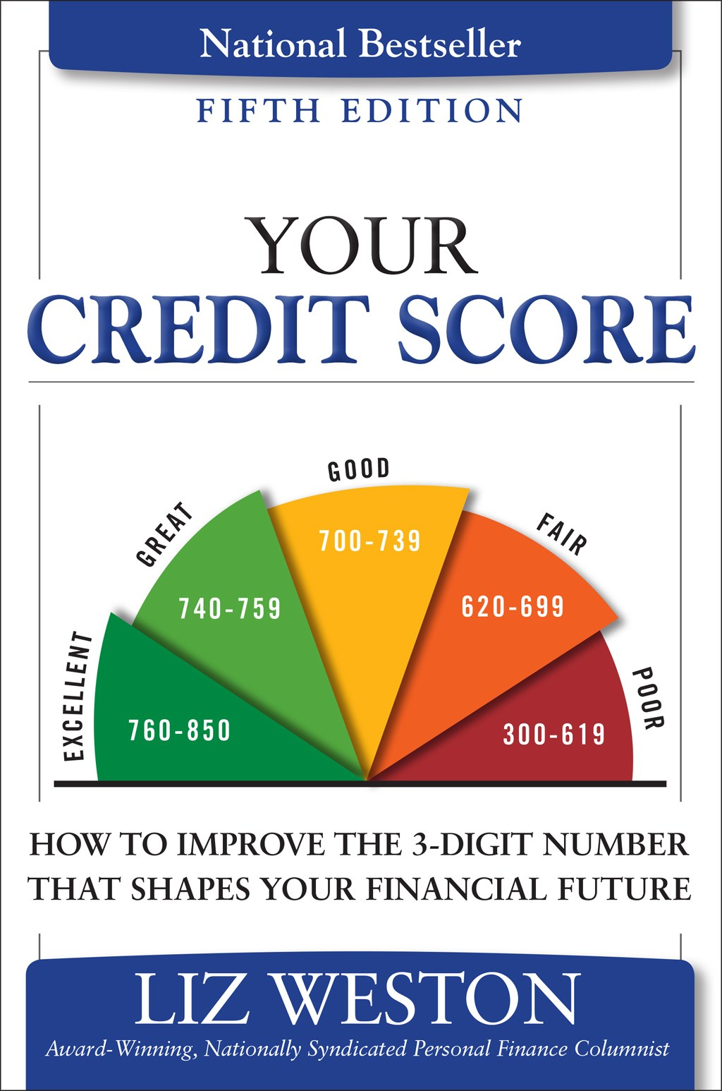 Your Credit Score: How to Improve the 3-Digit Number That Shapes Your Financial Future, 5th Edition