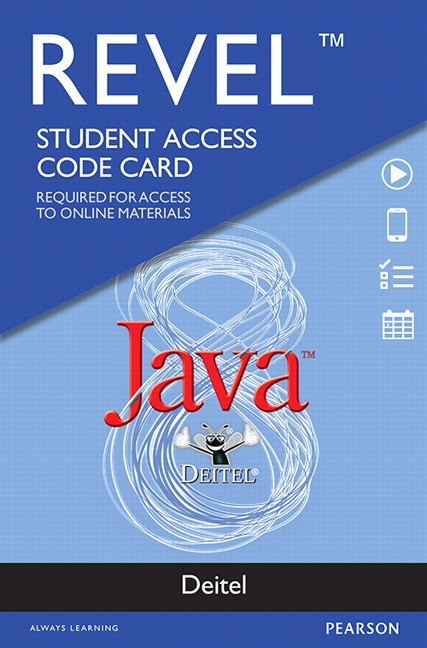 REVEL for Deitel Java -- Access Card