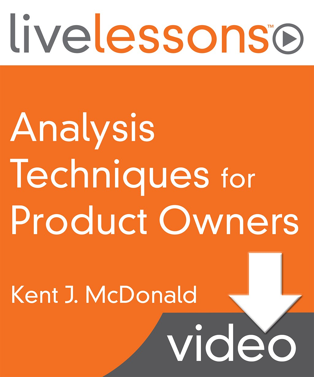 Analysis Techniques for Product Owners (Video Training)