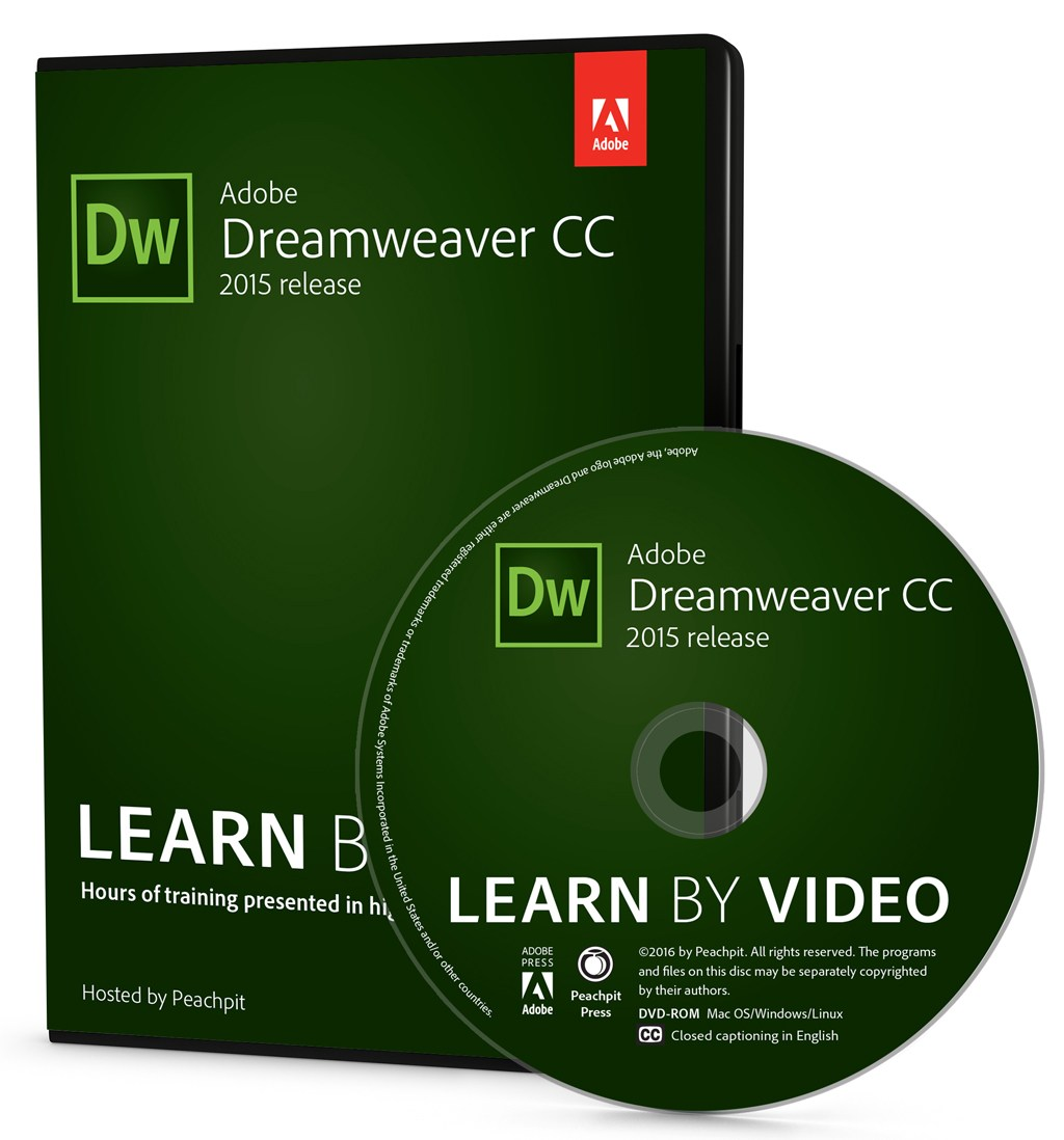 Adobe Dreamweaver CC Learn by Video (2015 release)