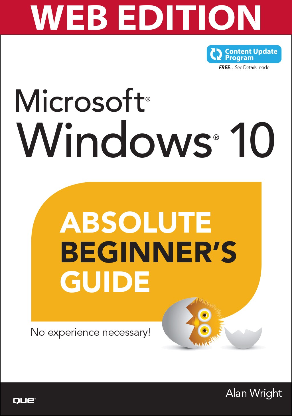 Windows 10 Absolute Beginner's Guide (Web Edition and Content Update Program)