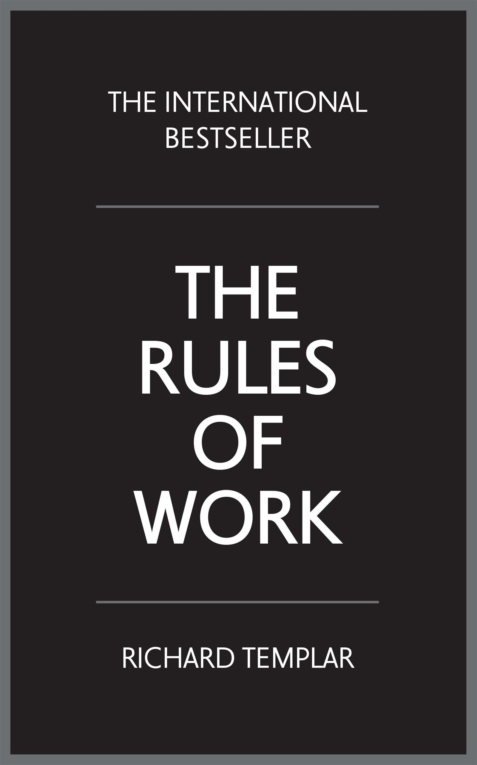 Rules of Work, The, 4th Edition