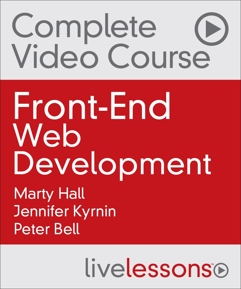 Front-End Web Development Complete Video Course