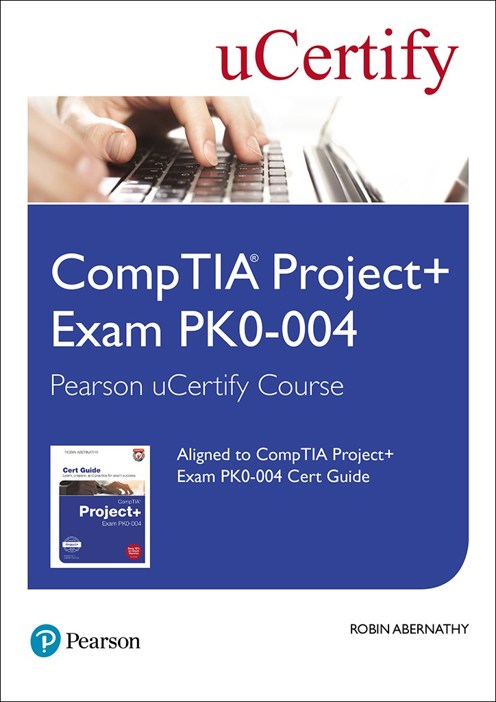 CompTIA Project+ Exam PK0-004 Pearson uCertify Course Student Access Card