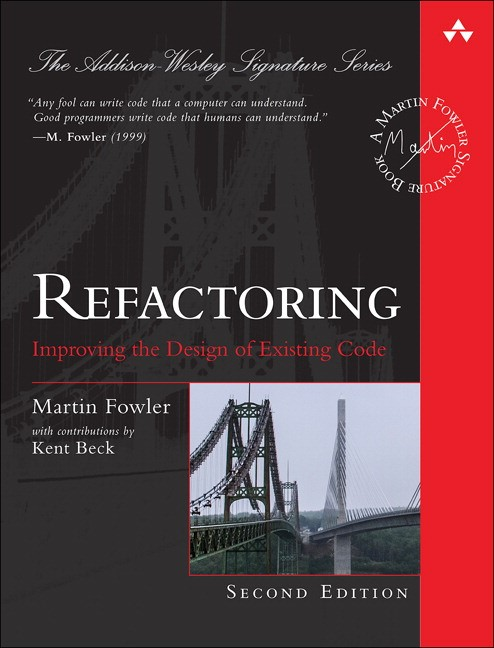 Refactoring: Improving the Design of Existing Code, 2nd Edition