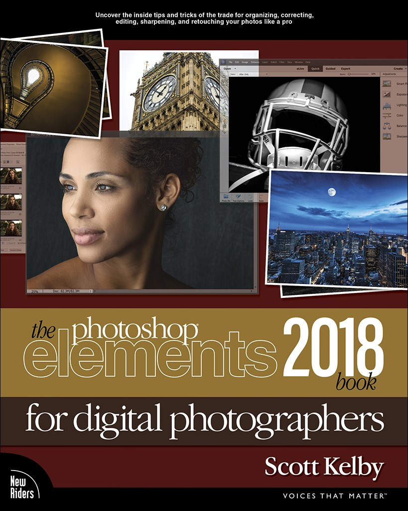 The Photoshop Elements 2018 Book for Digital Photographers
