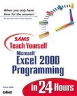 Sams Teach Yourself Microsoft Excel 2000 Programming in 24 Hours