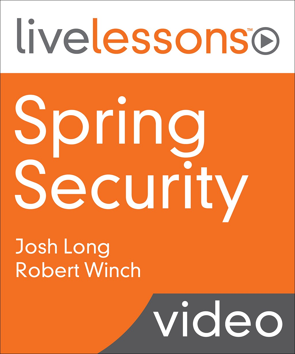 Spring Security LiveLessons (Video Training)