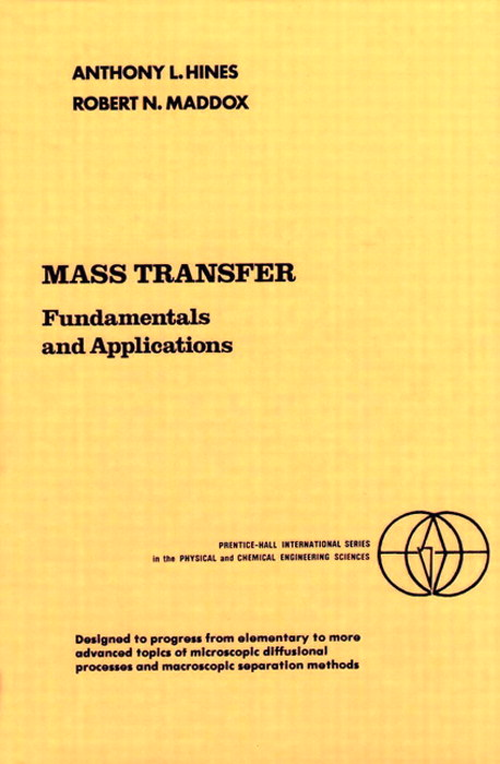 Mass Transfer: Fundamentals and Applications