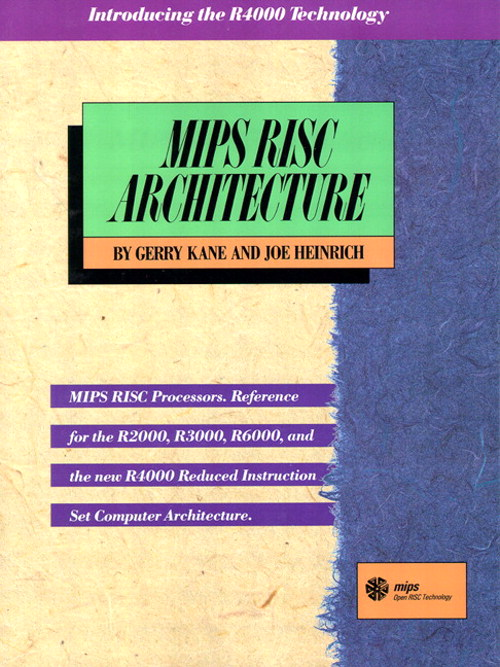MIPS RISC Architecture, 2nd Edition