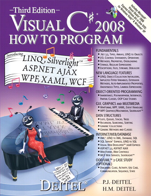 Visual C# 2008 How to Program, 3rd Edition