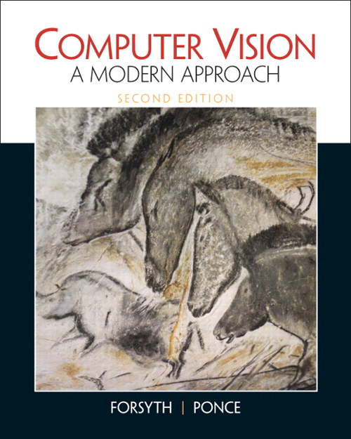 Computer Vision:  A Modern Approach, 2nd Edition