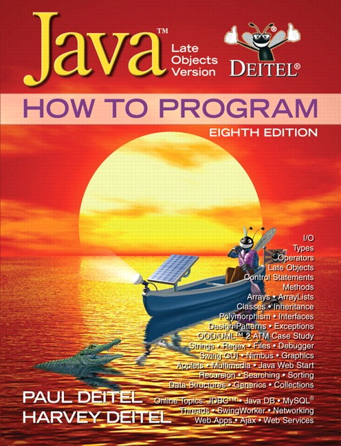 Java How to Program: Late Objects Version, 8th Edition   InformIT
