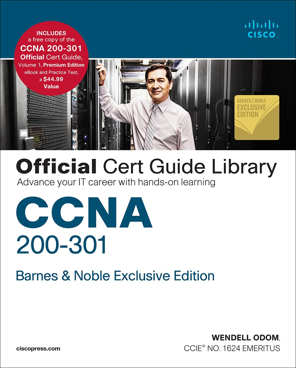 CCNA 200-301 Official Cert Guide Library, B&N Exclusive Edition