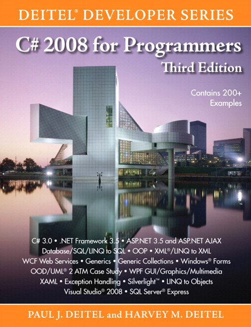 C# 2008 for Programmers, 3rd Edition