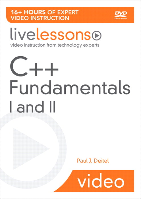 C++ Fundamentals I and II LiveLessons (Video Training)