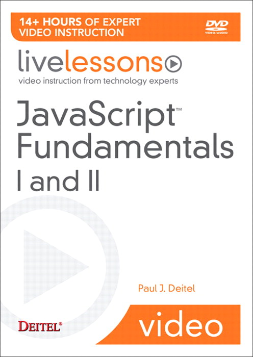 Javascript Fundamentals I and II LiveLessons (Video Training)