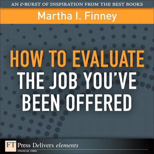 How to Evaluate the Job You've Been Offered