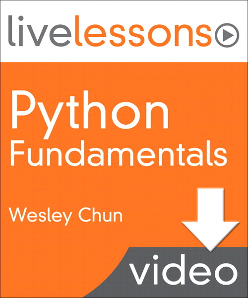 Python Fundamentals LiveLessons (Video Training): Lesson 4: Standard Types (Downloadable Version)