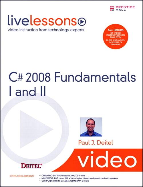 C# 2008 Fundamentals LiveLessons image