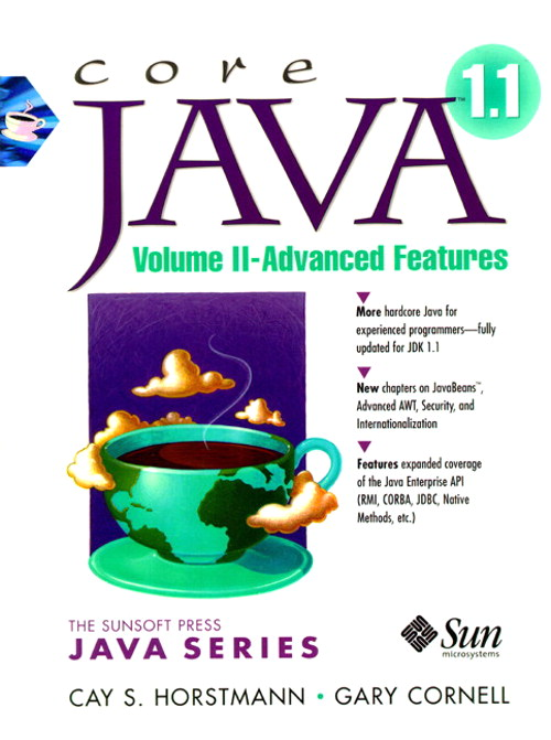 core java vol ii 8th ed Book review: core java: volume i, fundamentals (8th edition) xml processing, and so forth, you'll have to wait for core java, volume ii this book.