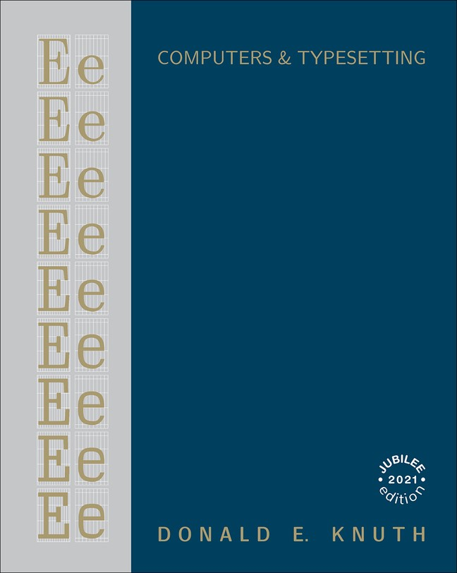Computers & Typesetting, Volume E: Computer Modern Typefaces