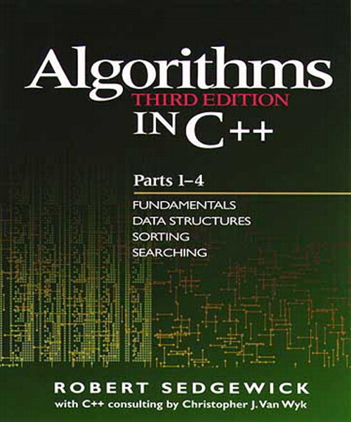 Algorithms in C++, Parts 1-4: Fundamentals, Data Structure, Sorting, Searching, 3rd Edition