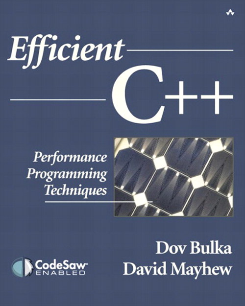 Efficient C++: Performance Programming Techniques
