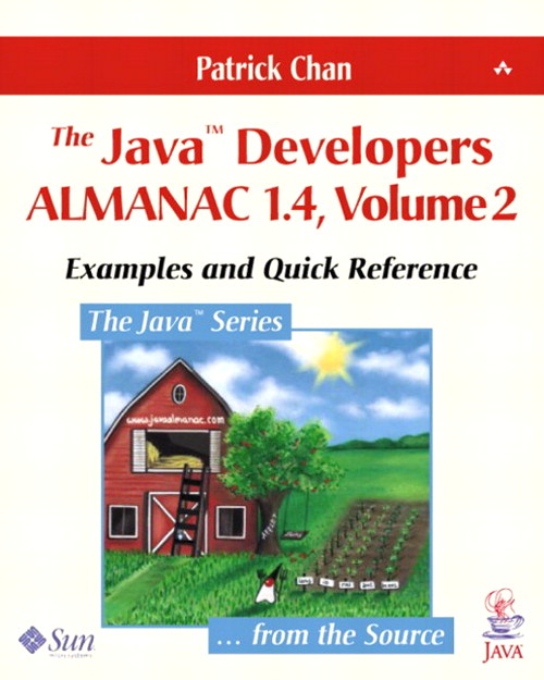 Java Developers Almanac 1.4, Volume 2, The: Examples and Quick Reference, 4th Edition