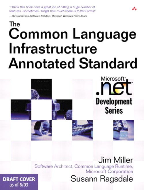 Common Language Infrastructure Annotated Standard, The