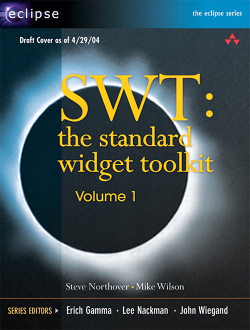 SWT: The Standard Widget Toolkit, Volume 1