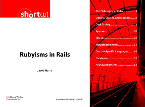 Rubyisms in Rails (Digital Short Cut)