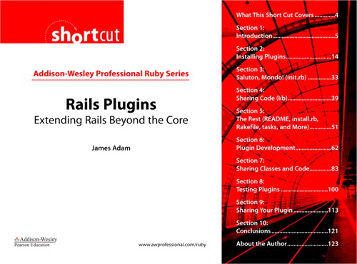 Rails Plugins (Digital Short Cut): Extending Rails Beyond the Core