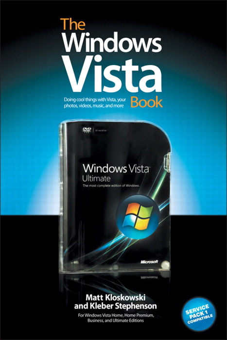 Windows Vista Book, The: The Step-by-Step Book for Doing the Things You Need Most in Vista