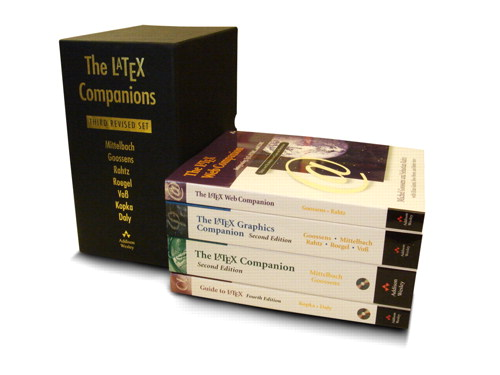 LaTeX Companions Third Revised Boxed Set, The: A Complete Guide and Reference for Preparing,  Illustrating and Publishing Technical Documents, 2nd Edition