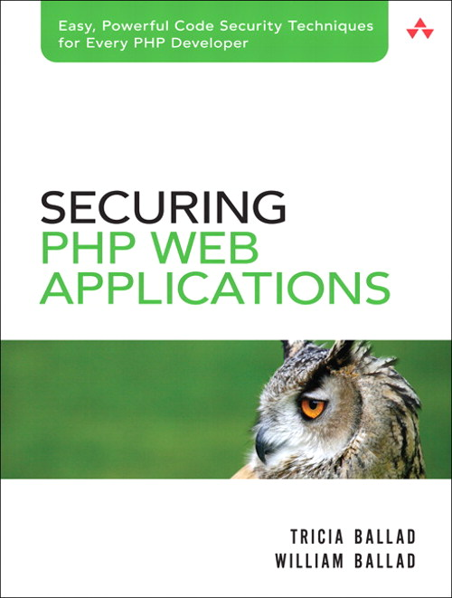 Securing PHP Web Applications
