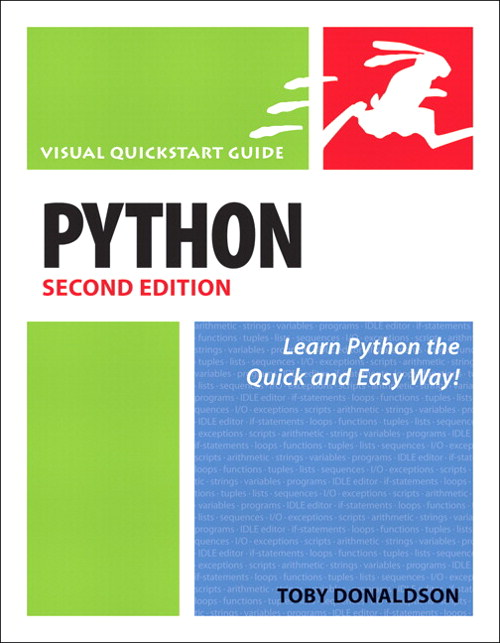 Python: Visual QuickStart Guide, 2nd Edition