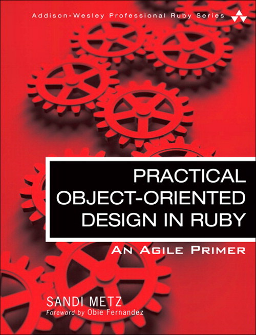 couverture du livre Practical Object-Oriented Design in Ruby