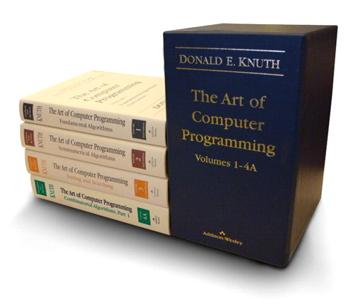 Art of Computer Programming, Volumes 1-4A Boxed Set, The