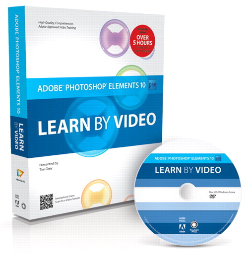 Adobe Photoshop Elements 10: Learn by Video