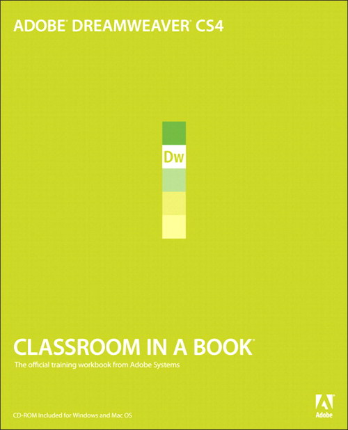 Adobe Dreamweaver CS4 Classroom in a Book