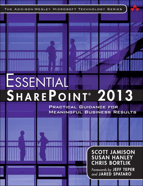 Essential SharePoint 2013, 3rd Edition
