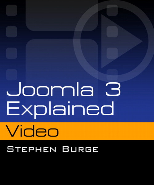 Joomla 3 Explained Video, Downloadable Version
