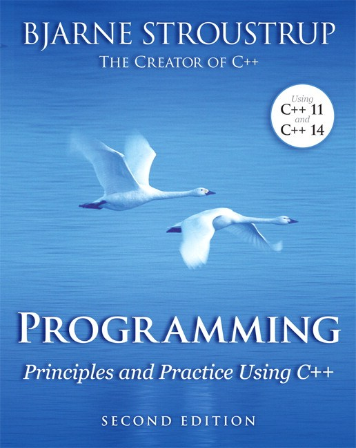Programming: Principles and Practice Using C++, 2nd Edition