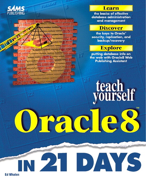 Sams Teach Yourself Oracle8 in 21 Days