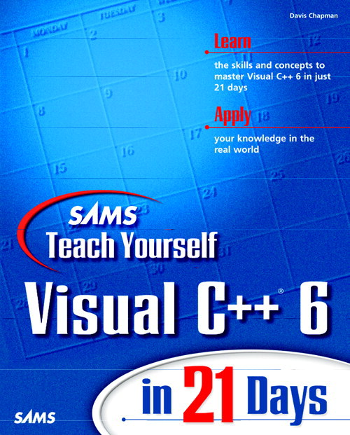 Sams Teach Yourself Visual C++ 6 in 21 Days