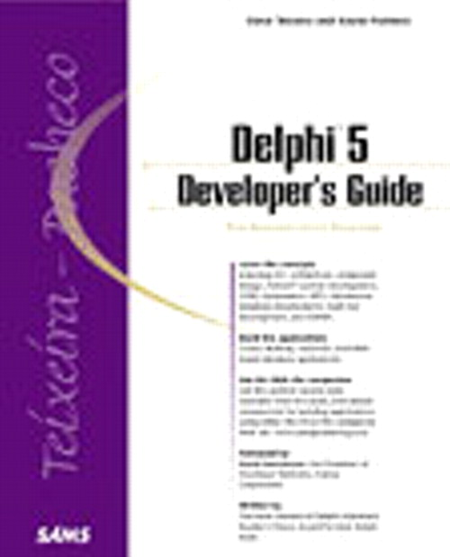 Delphi 5 Developer's Guide